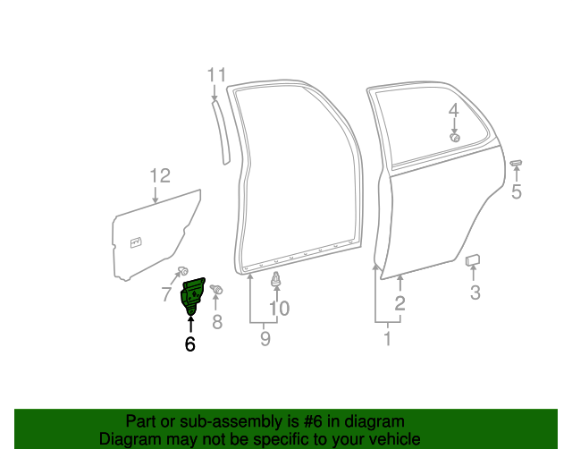 Inspection Cover - Toyota (67048-AA010)