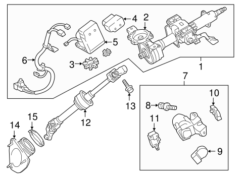 ELECTRICAL/IGNITION LOCK for 2012 Toyota Camry #3