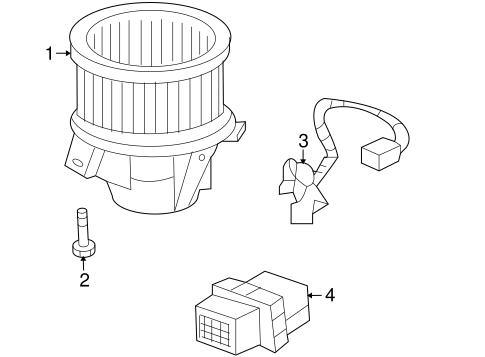 blower motor  u0026 fan for 2010 chevrolet traverse