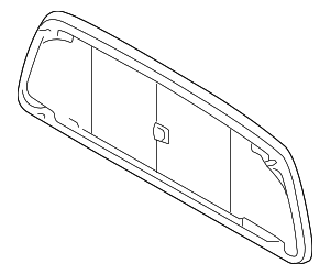 Back Glass - Toyota (64810-04121)
