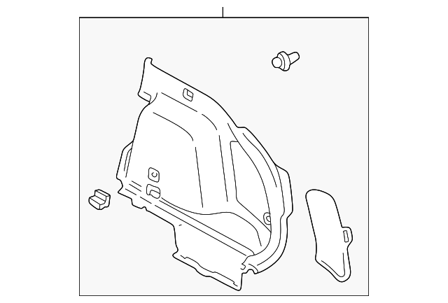 Side Trim Panel - Toyota (64730-02032-B0)