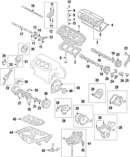 OEM Honda 14627-RN0-A00 - Exhaust Rocker Arms