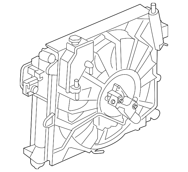 fan assembly for 2007 jeep grand cherokee