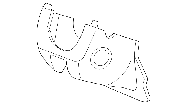 Lower Column Cover - Honda (77360-TA0-A01ZA)