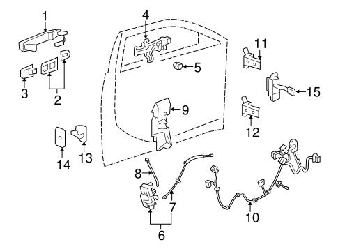 lock hardware for 2008 cadillac cts. Black Bedroom Furniture Sets. Home Design Ideas