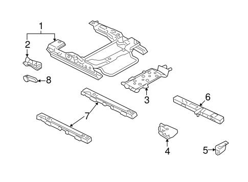 tracks  u0026 components for 2007 mercury milan