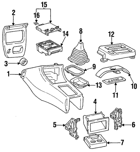 Radio Pocket - Toyota (55521-36020)