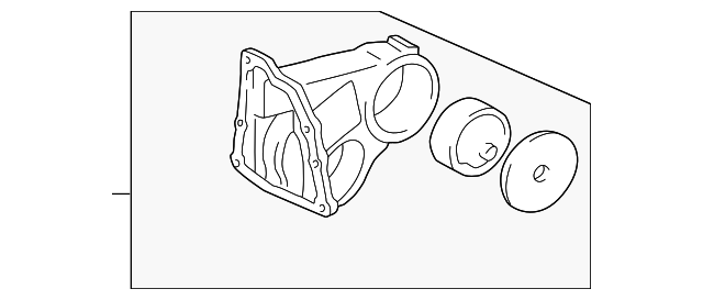 Rear Mount - Toyota (12380-0A031)