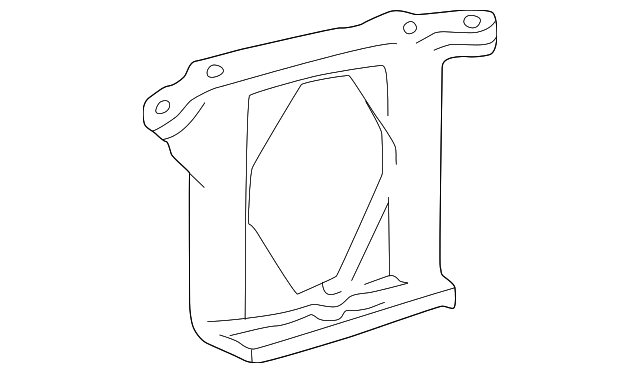 Side Mount Bracket - Toyota (12316-62020)