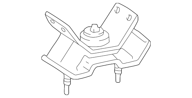 Side Mount - Toyota (12372-0A020)