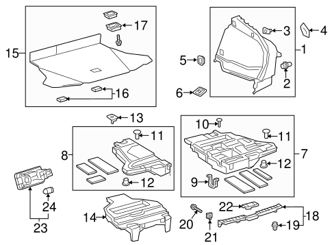 Floor Cover - Toyota (58415-47090-C2)