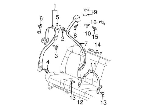 Honda Pilot Rear Fuse Box