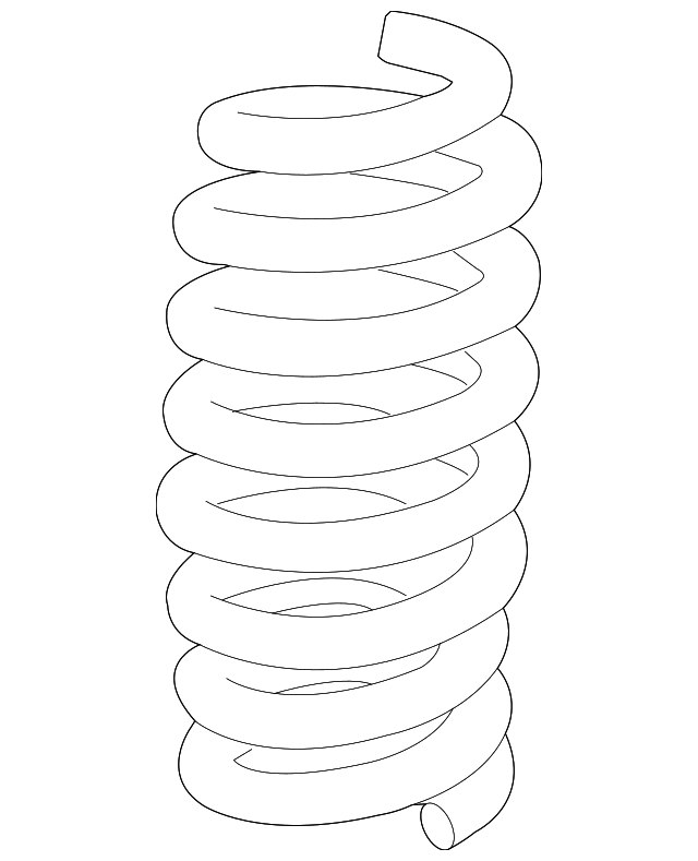 Coil Spring - GM (23341851)