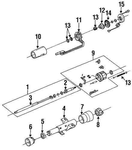 oem switches for 1991 cadillac seville