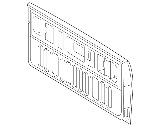 Tail Gate - Toyota (65700-0C072)