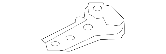 Lower Cover Center Bracket - Toyota (55722-52170)
