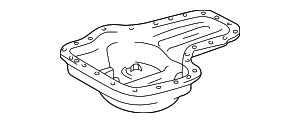 Oil Pan - Toyota (12102-0F010)