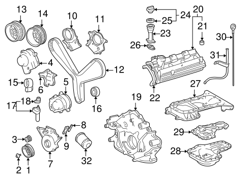 ENGINE/ENGINE PARTS for 2006 Toyota Tundra #1