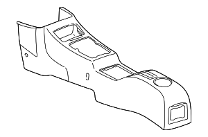 Console Housing - Toyota (58801-42010-B0)