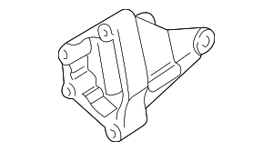 BRACKET, RR. ENGINE MOUNTING - 2003 Honda PILOT (50827S0XA02)