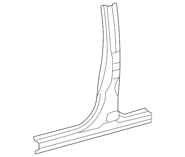 Center Pillar & Rocker - Toyota (61411-0C060)