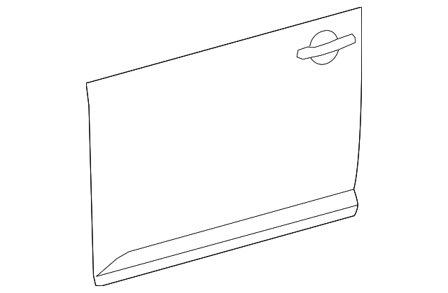 Outer Panel - Toyota (67112-12710)