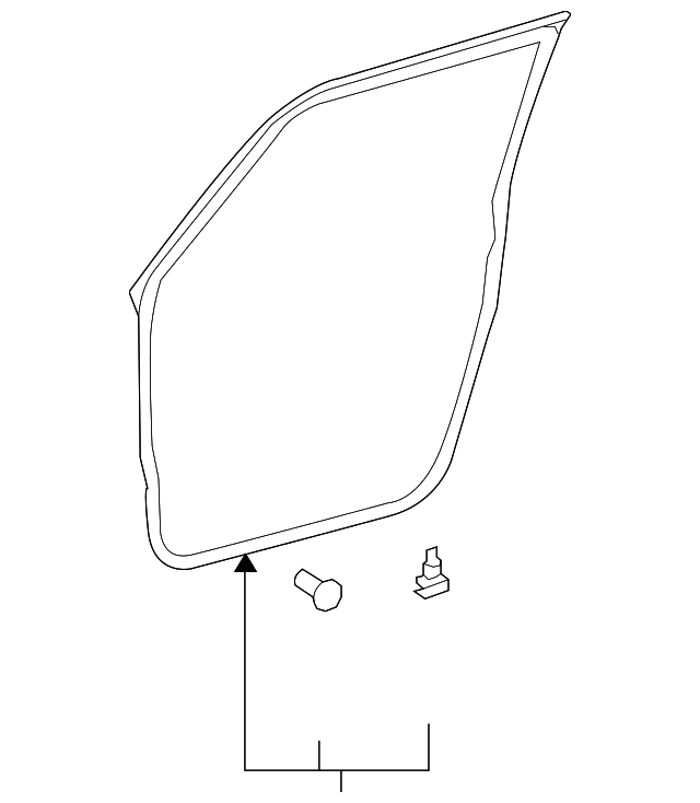 Door Weather-Strip - Toyota (67861-12A61)