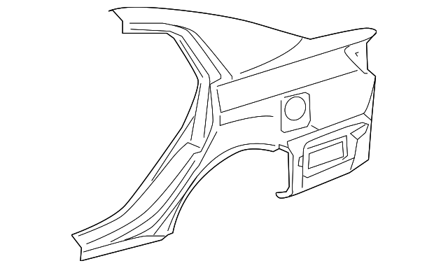 Quarter Panel - Toyota (61611-AC030)
