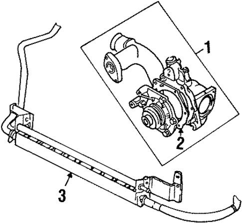 Power Steering Oil Cooler Scat