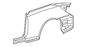 Quarter Panel Assembly - Toyota (61601-06120)