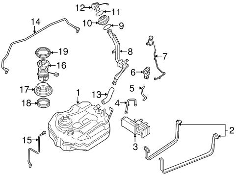 Lf661335xg Mazda 3 Fuel Pump
