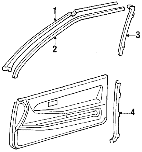 Pillar Trim - Toyota (62518-16020-01)