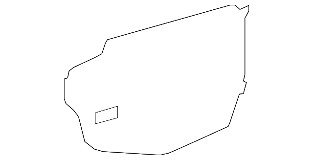 Water Deflector - Toyota (67832-0C040)