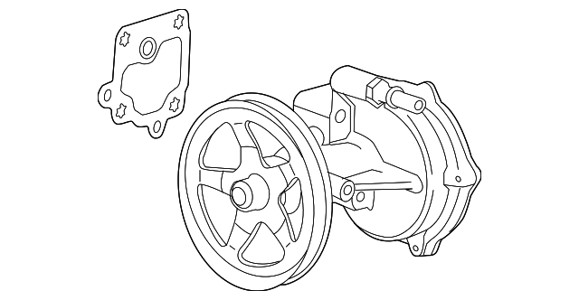 vacuum pump replaced by part number 12669488 for 2015