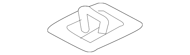 Seat Reinforced - Toyota (57841-08020)