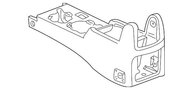 Console Housing - Toyota (58901-AD010-B0)