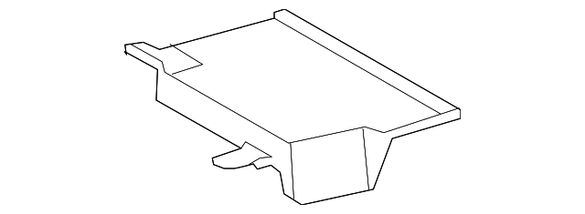 Luggage Compartment - Toyota (64439-0C010-B0)