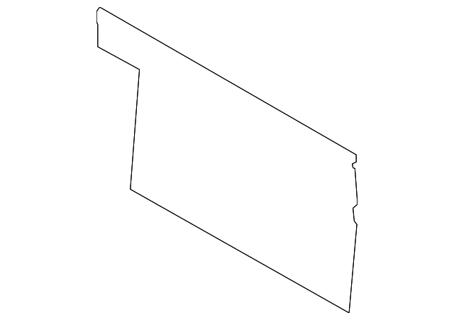 Back Panel Trim - Toyota (64271-0C050-C0)