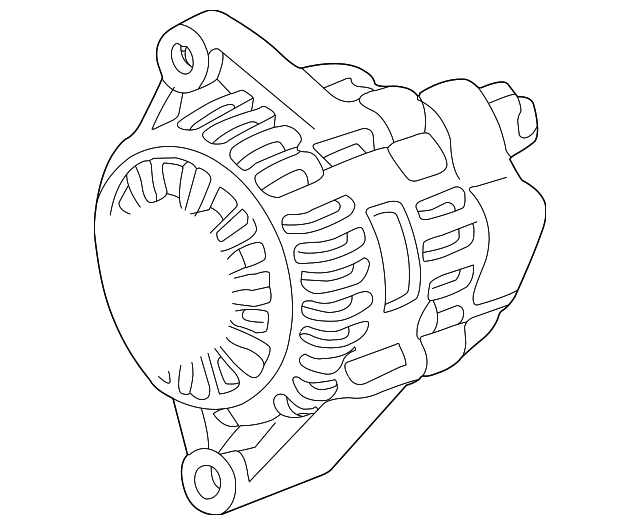 OEM Honda 06311-PCX-505RM - Alternator (RMD) Core ID 9762219-177 102211-1770