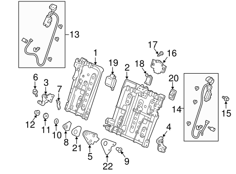 Lock Assembly - Honda (82220-TP6-A01ZB)