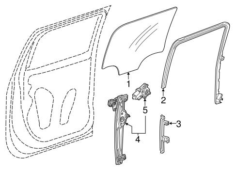rear door for 2014 chevrolet silverado 1500