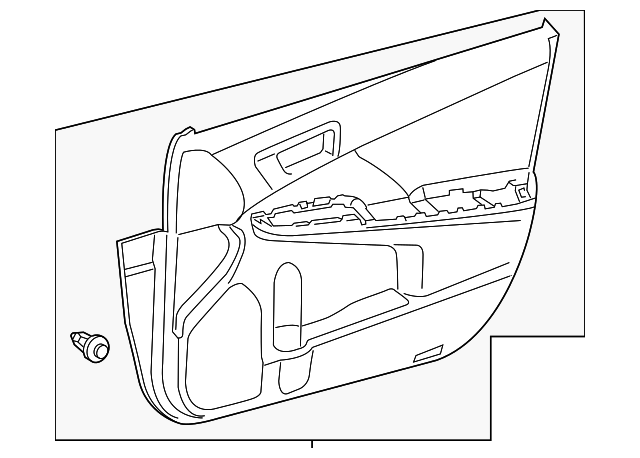 Door Trim Panel - Toyota (67620-06E20-22)