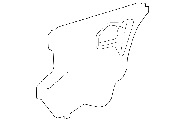 Water Shield - Toyota (67842-47080)