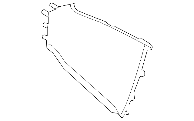 Rear Trim - Toyota (58911-47030-E0)