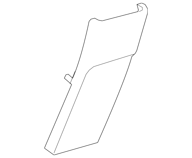 Rear Panel - Toyota (58923-47020-B0)