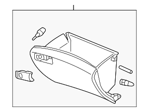 Glove Box Assembly - Honda (77500-TA0-A02ZE)