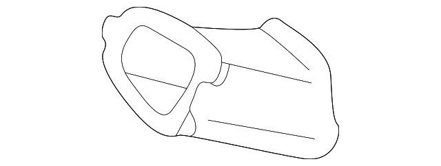 Air Duct - Toyota (55755-08010)