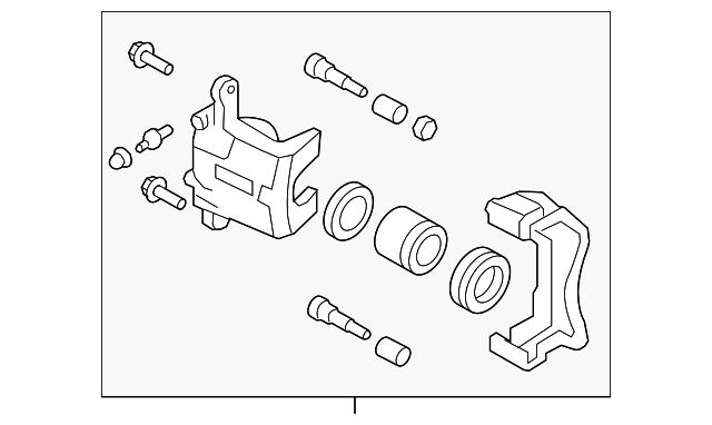 Caliper Assembly - GM (19316559)