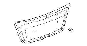 Lower Trim Panel - Toyota (64780-48020-A0)