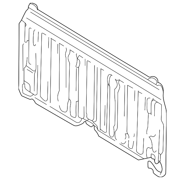 Back Panel - Toyota (64111-0C020)